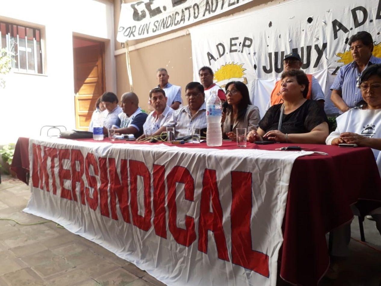 """Convocan a plenario de la Intersindical """"por un salario real, justo y digno"""""""