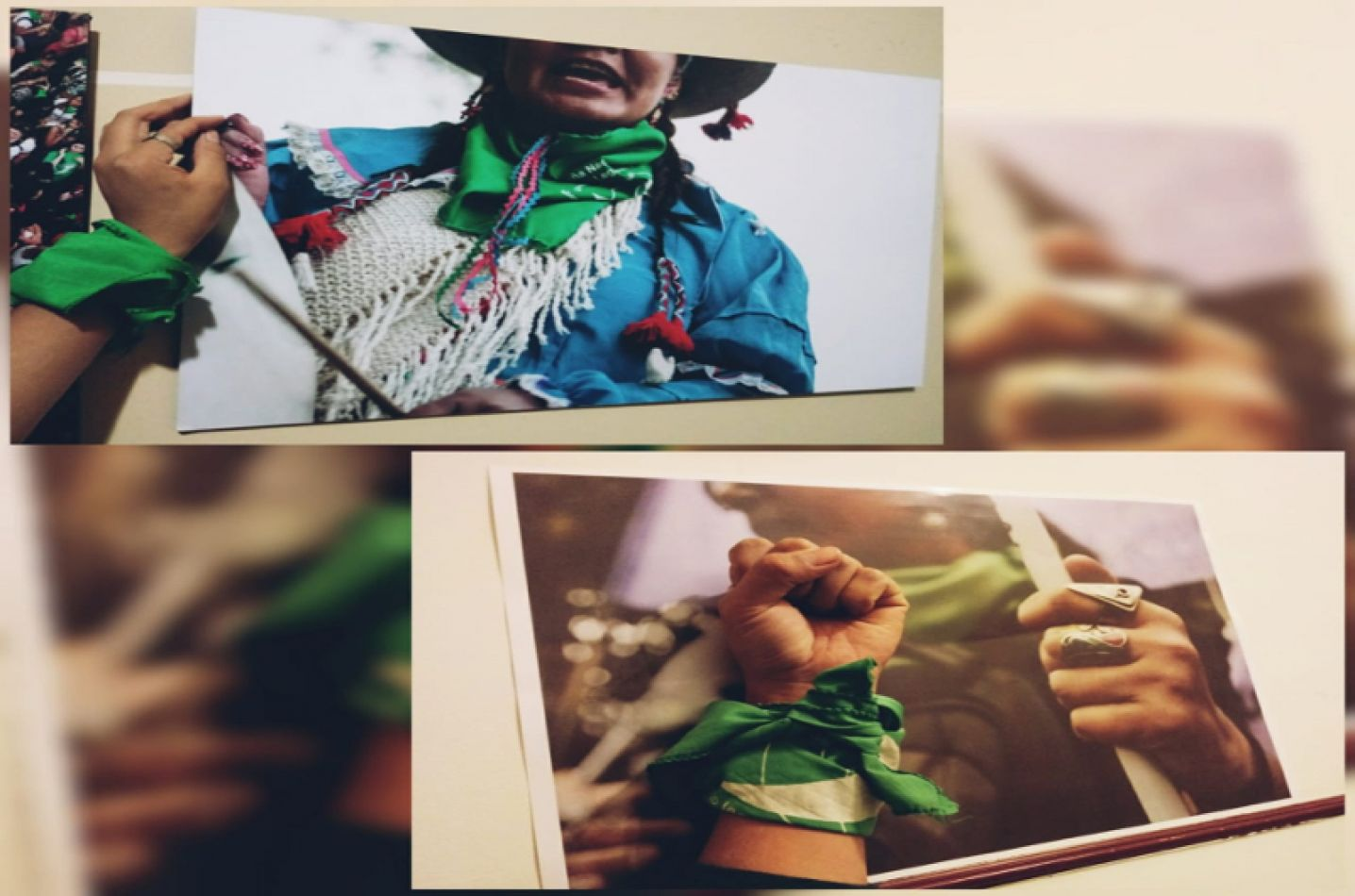 """""""Identidades en lucha"""" exposición y difusión del proyecto interrupción voluntaria del embarazo"""