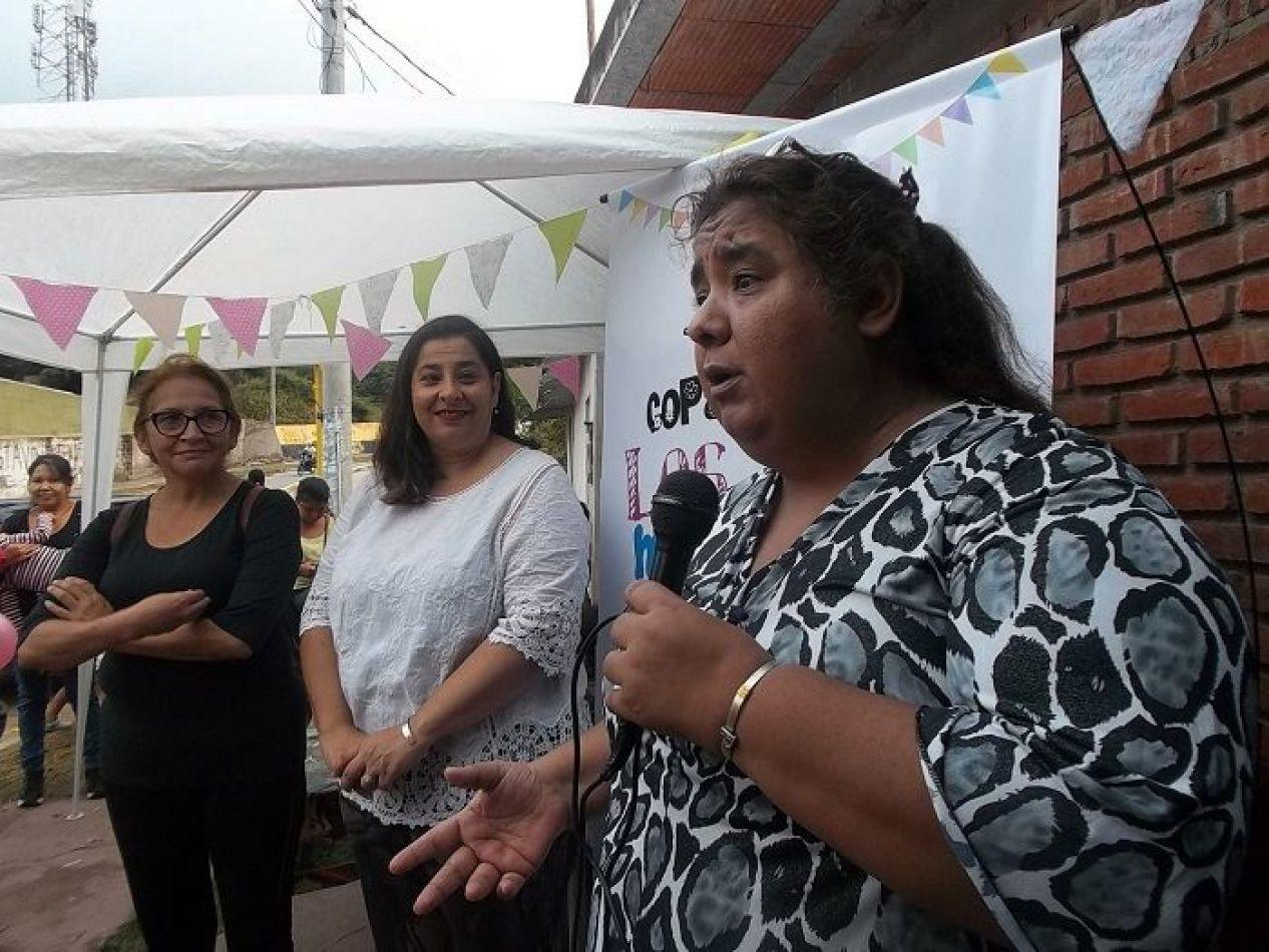 """En Libertador """"necesitamos garantizar los cuatro alimentos del día a los niños"""", afirmó Patricia Gutierrez."""