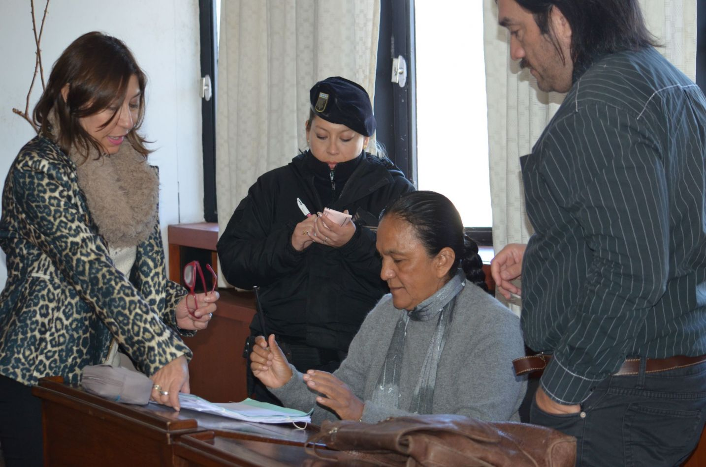 Milagro Sala refrenda el acta  judicial