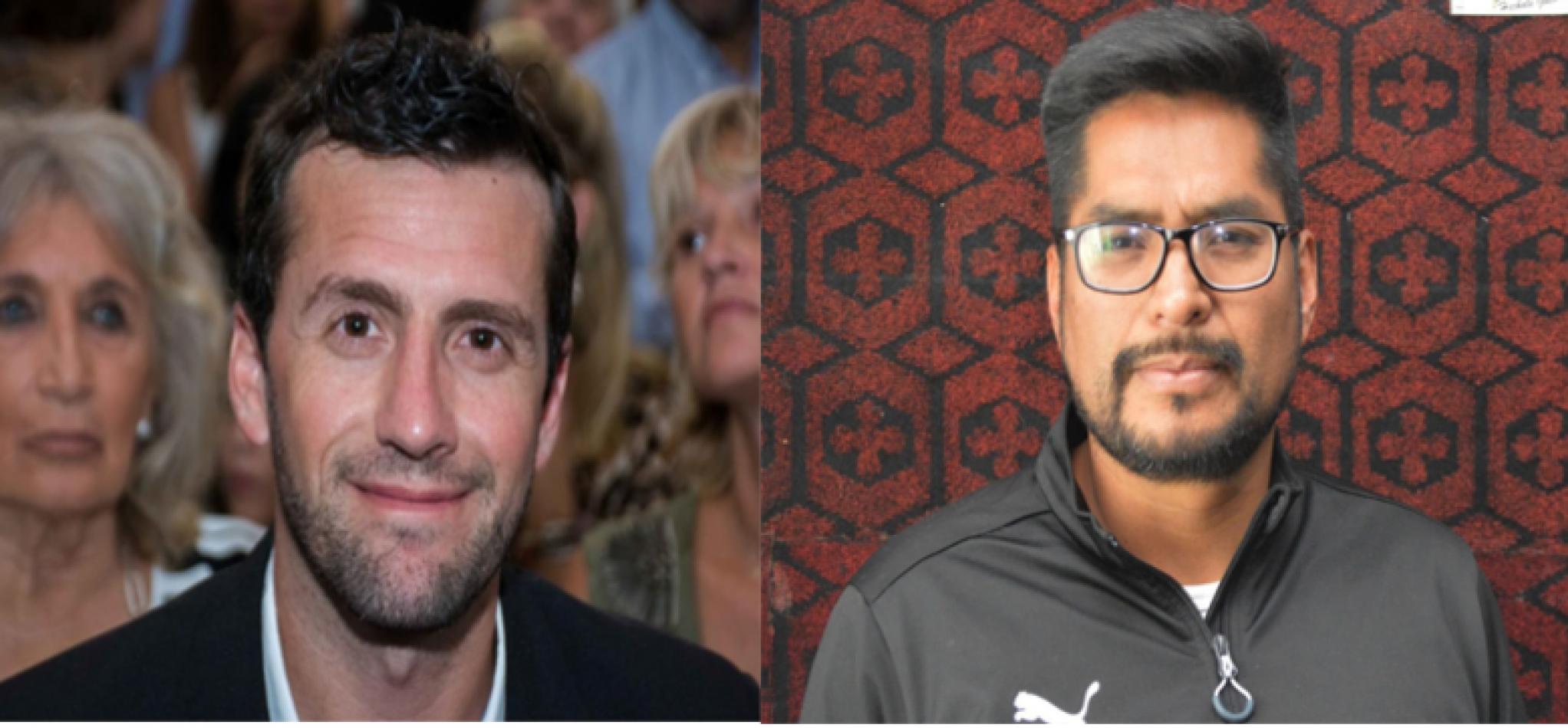 Izquierda: Luciano Demarco. Derecha: Blas Gallardo