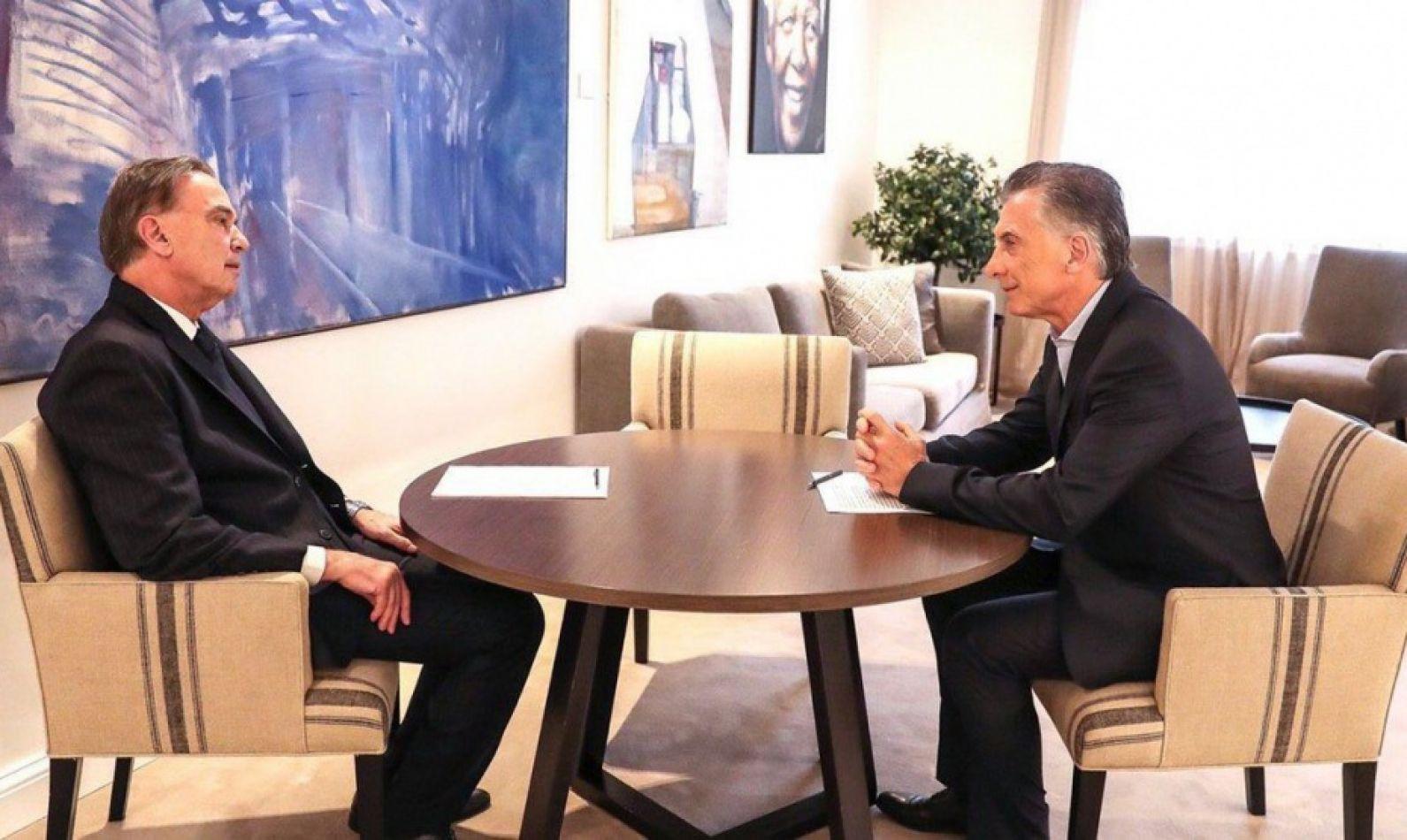 Macri anunció que Pichetto será el candidato a Vicepresidente por Cambiemos