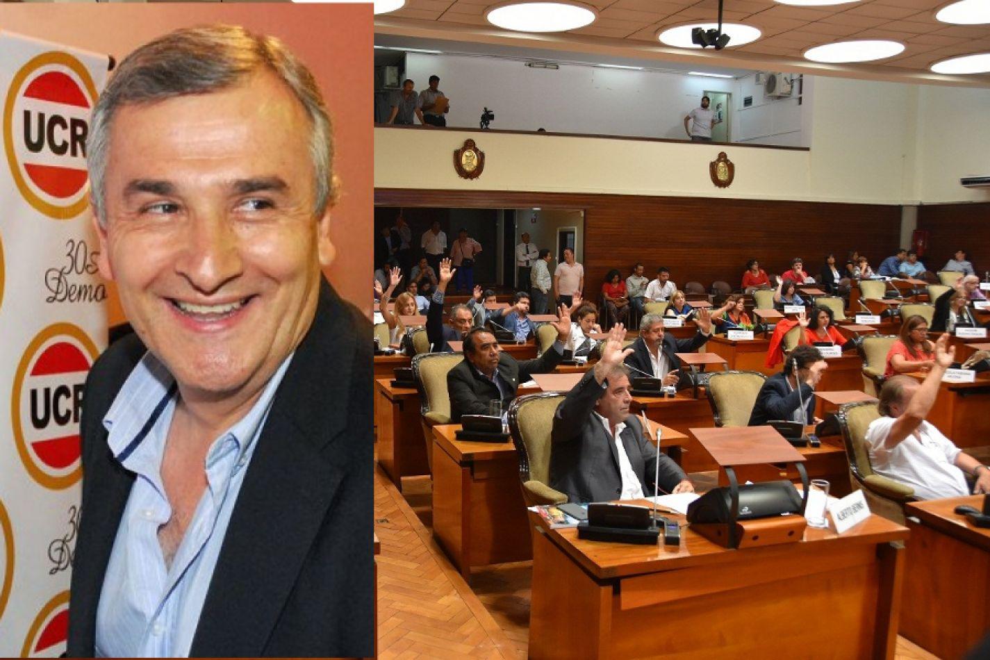 Le aprobaron más deuda a Morales y las cuentas de Jujuy están al rojo vivo