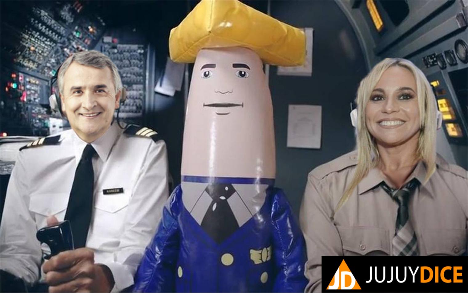 Y dónde esta el piloto? Los mil y un viajes de Morales