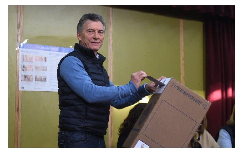 """Macri ya votó : """"Los mercados esperan que sigamos el mismo camino"""" y aseveró que cree en """"continuar las reformas"""""""