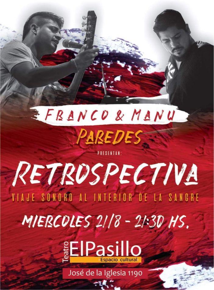 """Franco y Manu Paredes """"Viaje sonoro al interior de la sangre"""""""
