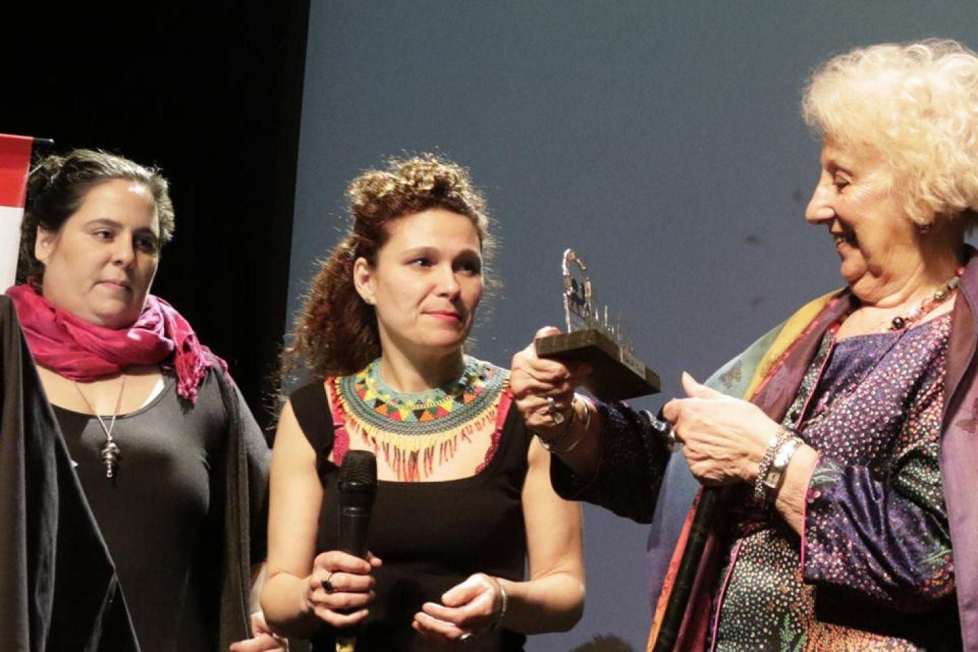 Estela de Carlotto, una de las premiadas.  Imagen: Jorge Larrosa