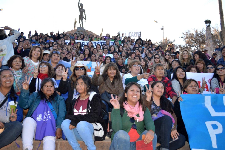 Jornada Federal de Mujeres en Humahuaca organizada por Frente de Todos