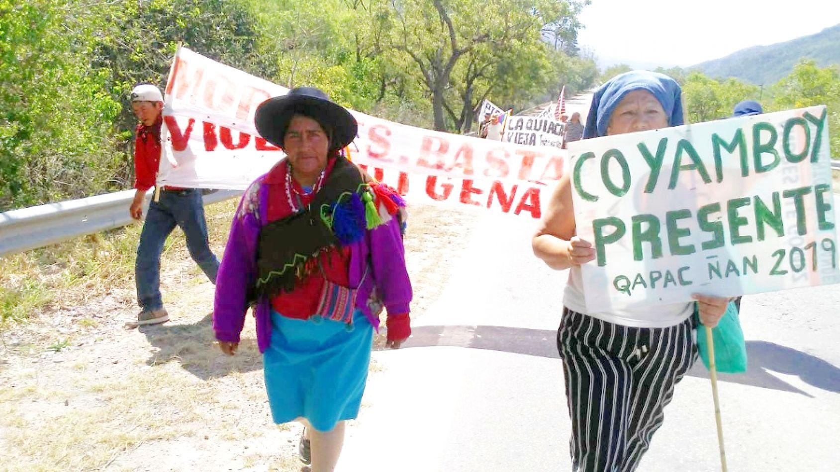 Las comunidades indígenas llegan a San Salvador y esperan la participación del gobierno