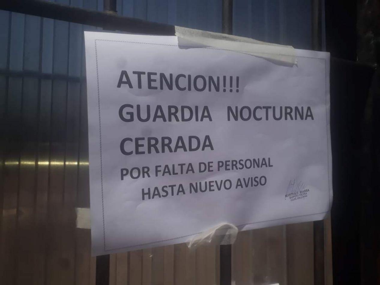 Tres centros de salud de Libertador dejaron de atender en el horario nocturno por falta de personal