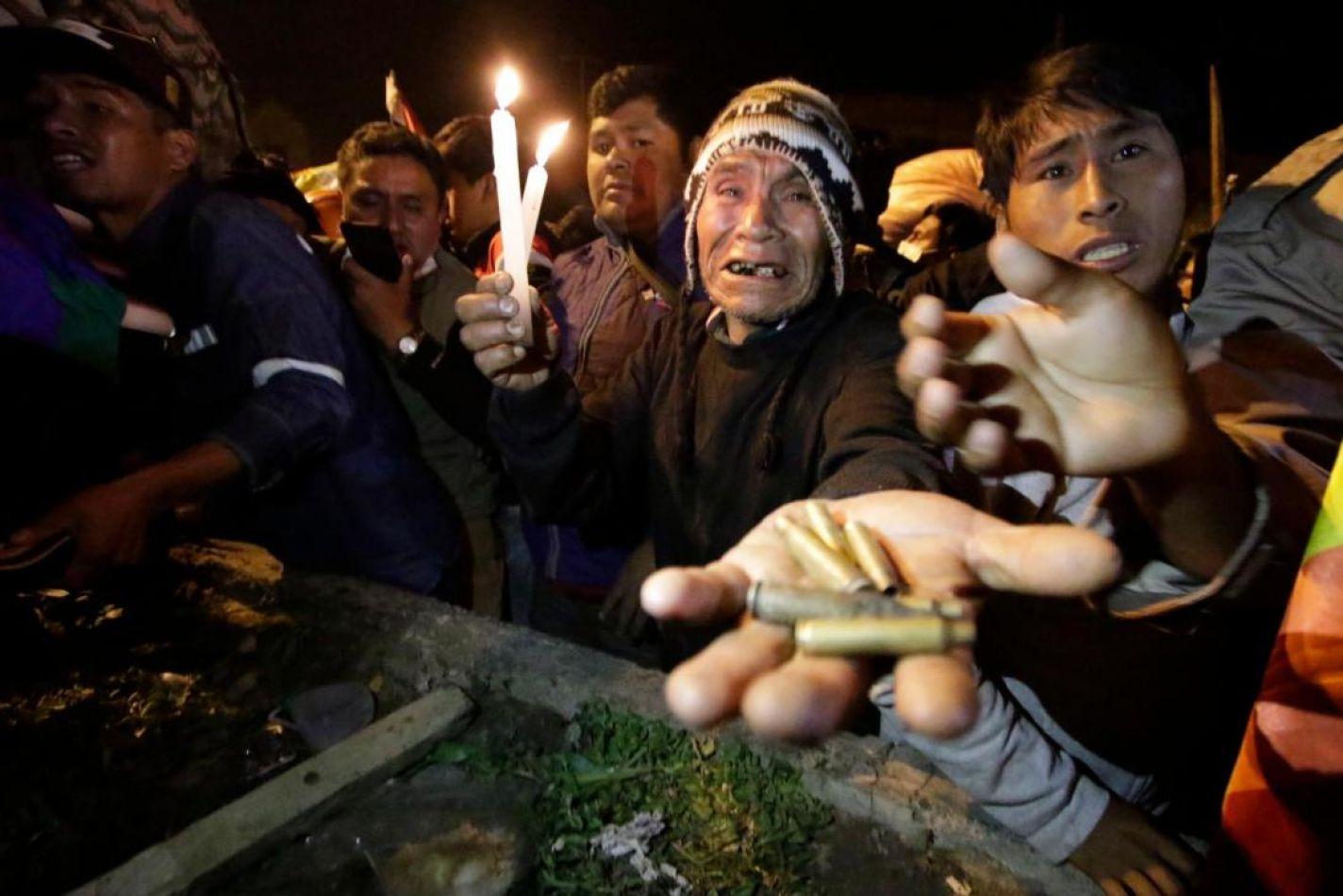 El golpe de estado en Bolivia ya se cobró al menos 20 muertos