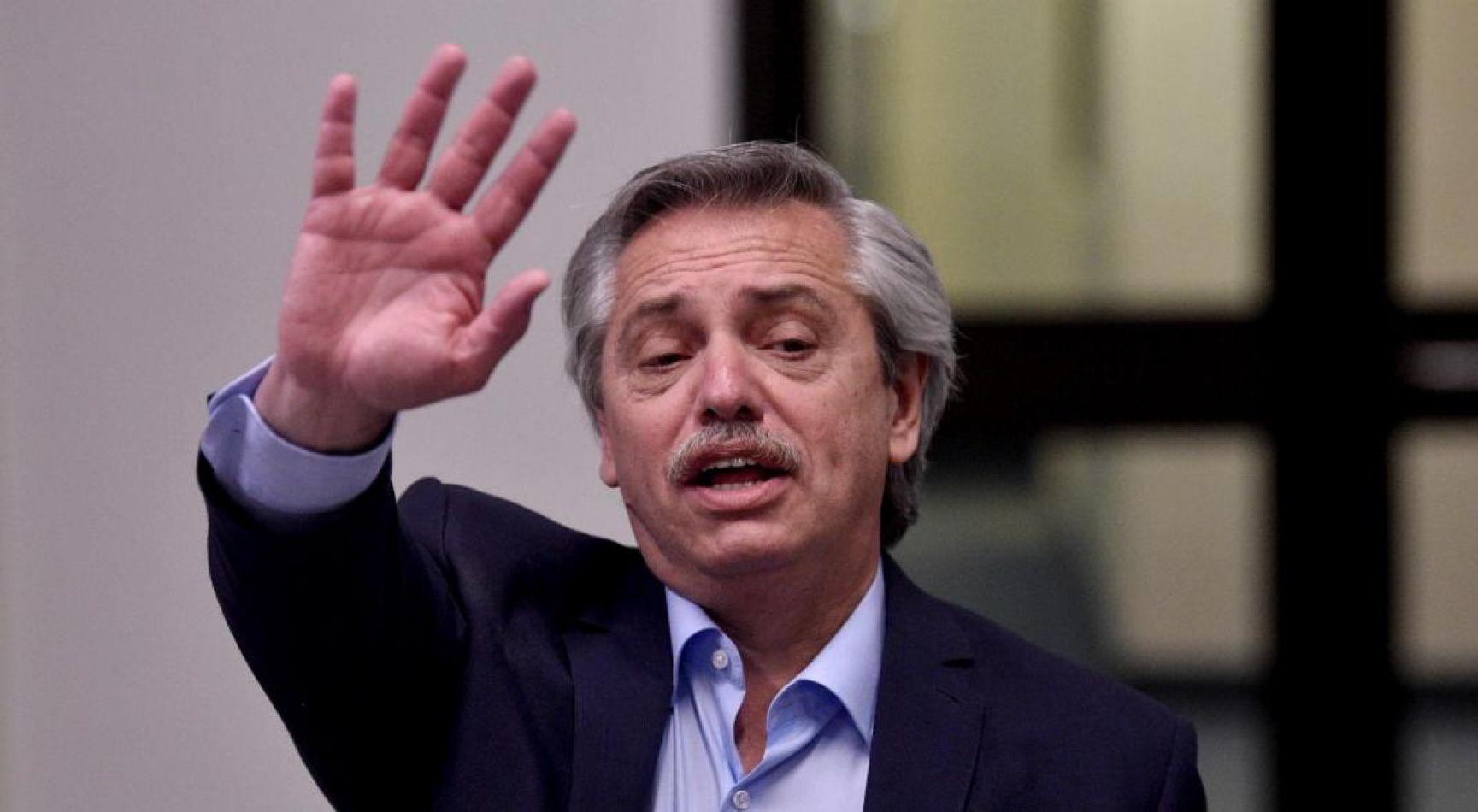 Alberto Fernández no aceptará el desembolso de los 11 mil millones de dólares del FMI