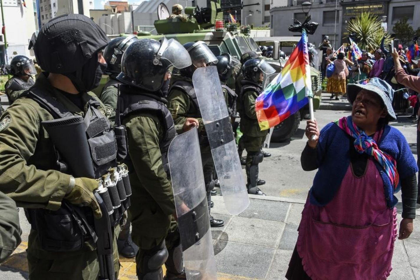 """""""Despertémonos, por favor"""", los derechos humanos vulnerados en Bolivia"""