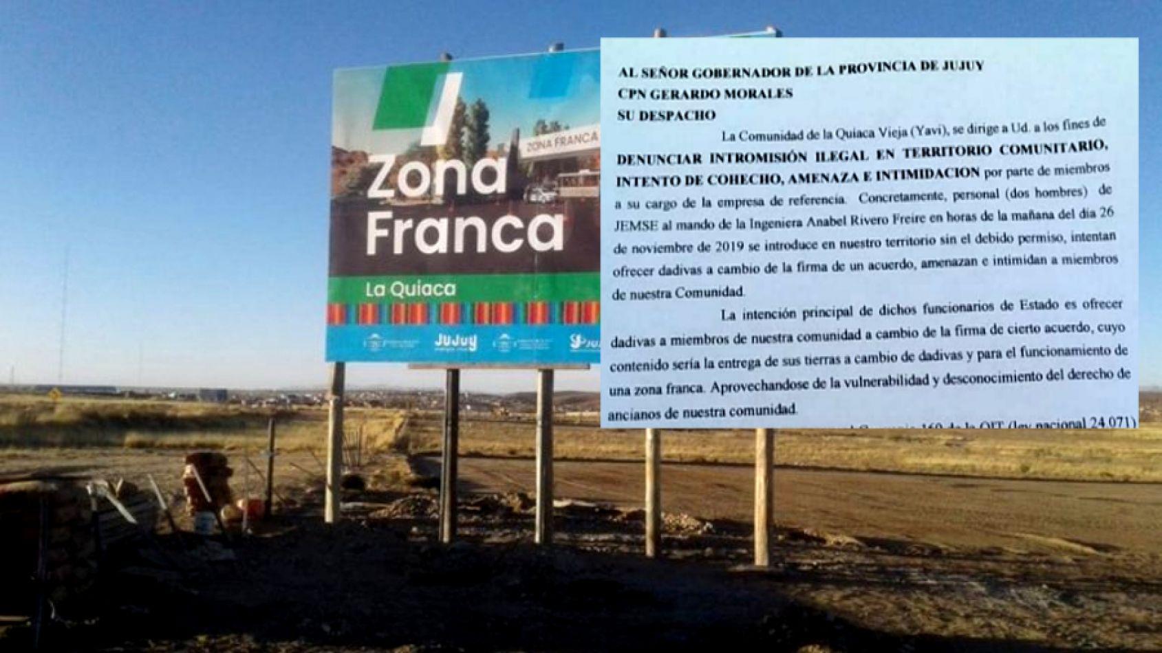 Denuncian que funcionarios de Morales realizan aprietes a la comunidad de La Quiaca Vieja