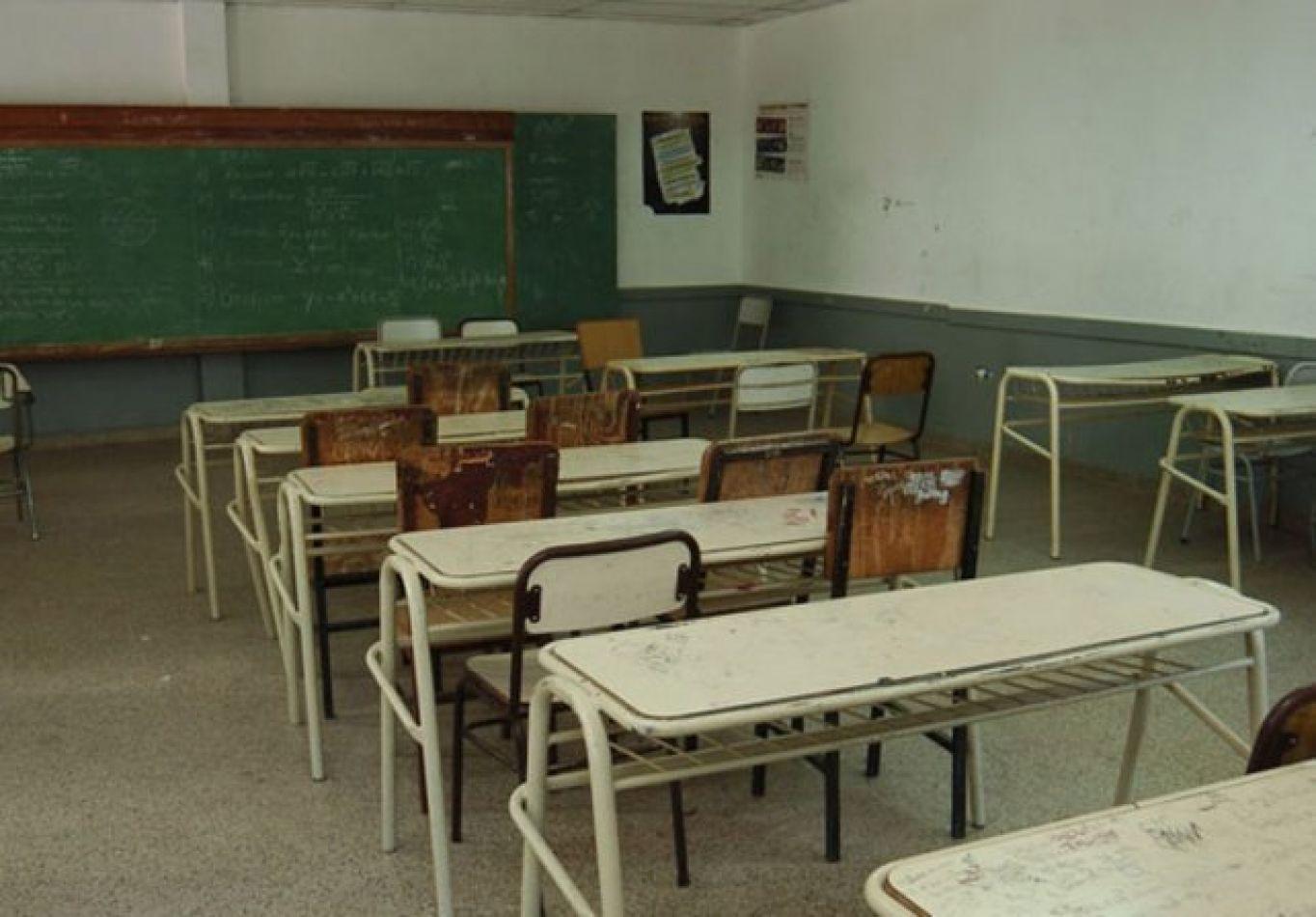 No habrá clases el próximo lunes en escuelas de toda la provincia