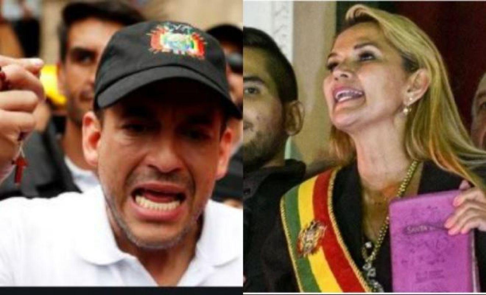 Piden la detención de Añez y Camacho en la Argentina por crímenes contra los derechos humanos