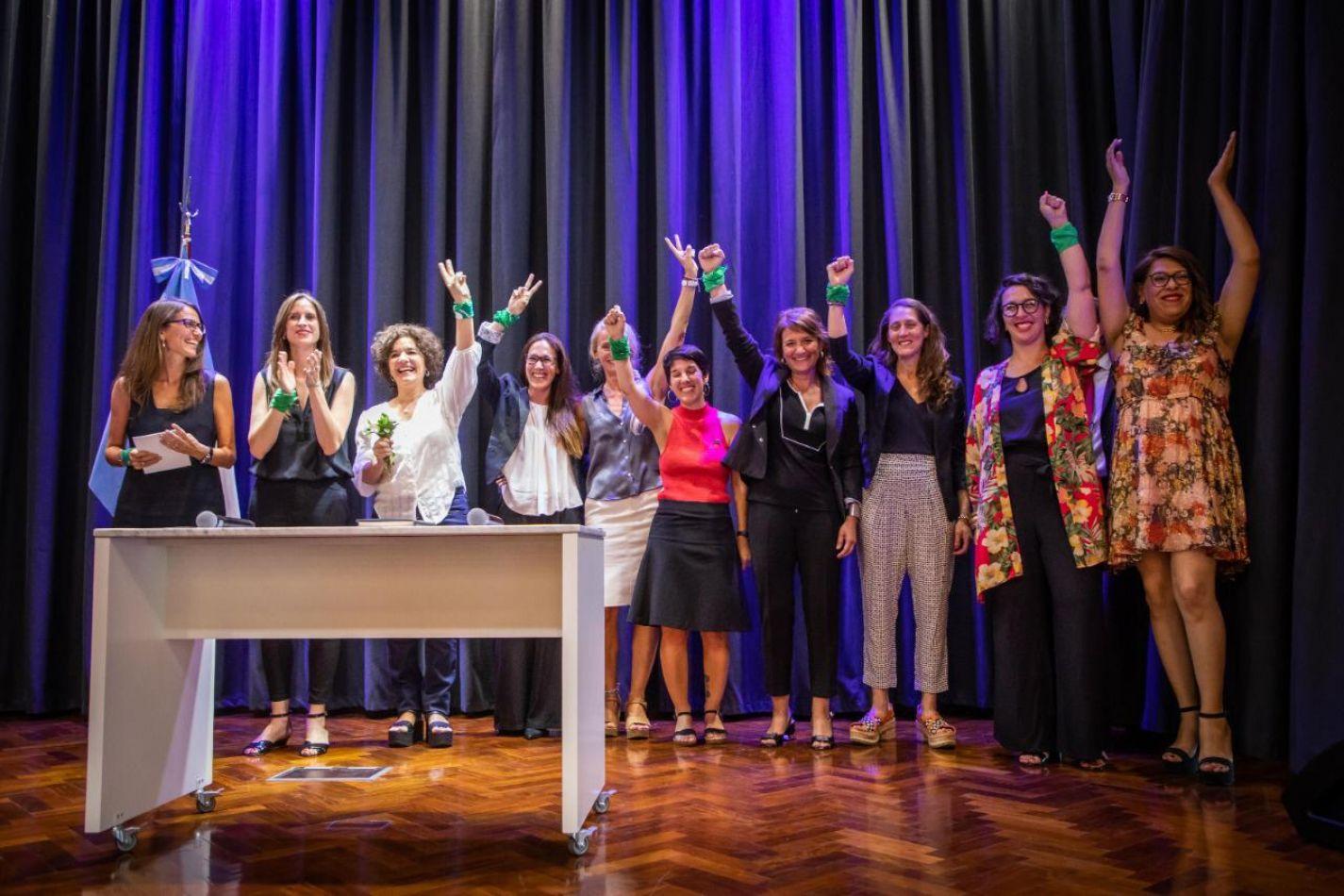 Gómez Alcorta tomó juramento a las autoridades del Ministerio de las Mujeres, Géneros y Diversidad de la Nación