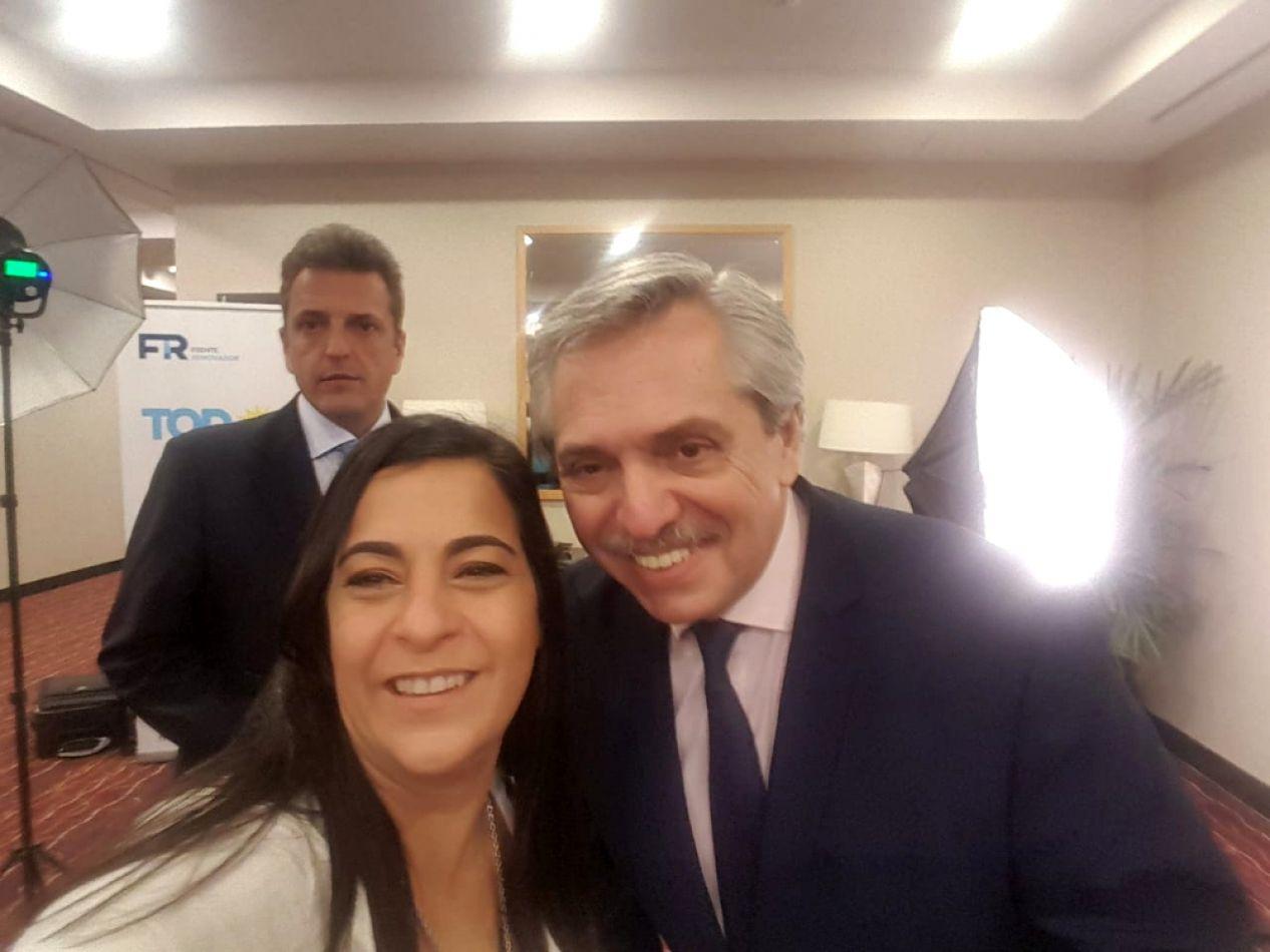 Carolina Moisés definió la agenda de Alberto Fernández en Jujuy