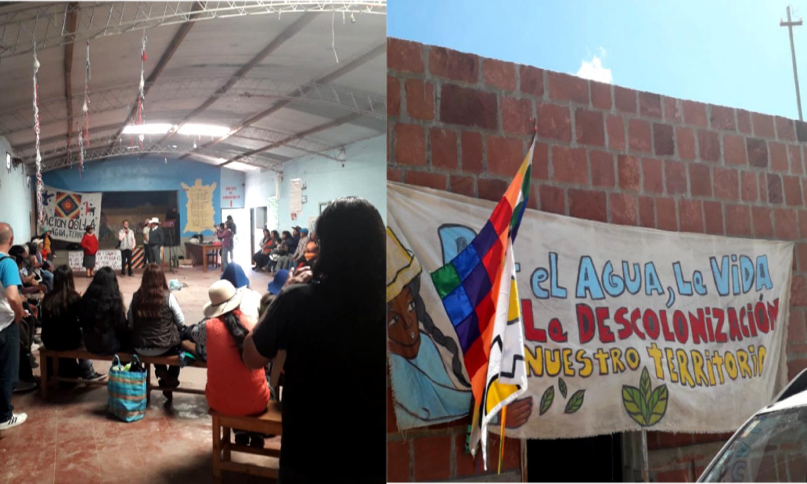 Pueblos originarios denunciarán ante Alberto Fernández la vulneración de sus derechos