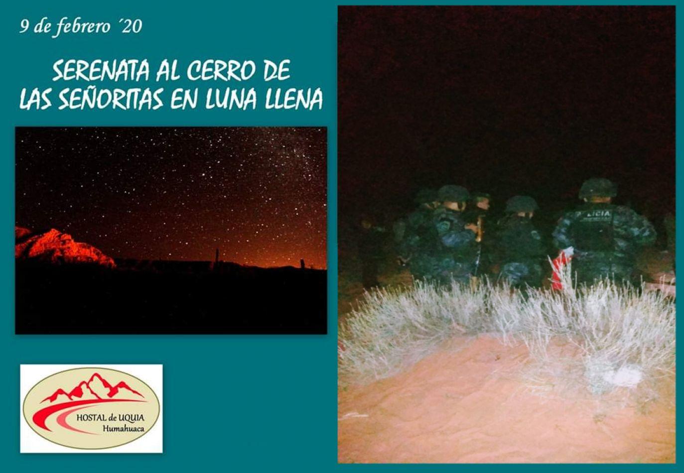 Policías armados desalojaron a participantes de la Serenata al Cerro de las Señoritas en Luna Llena