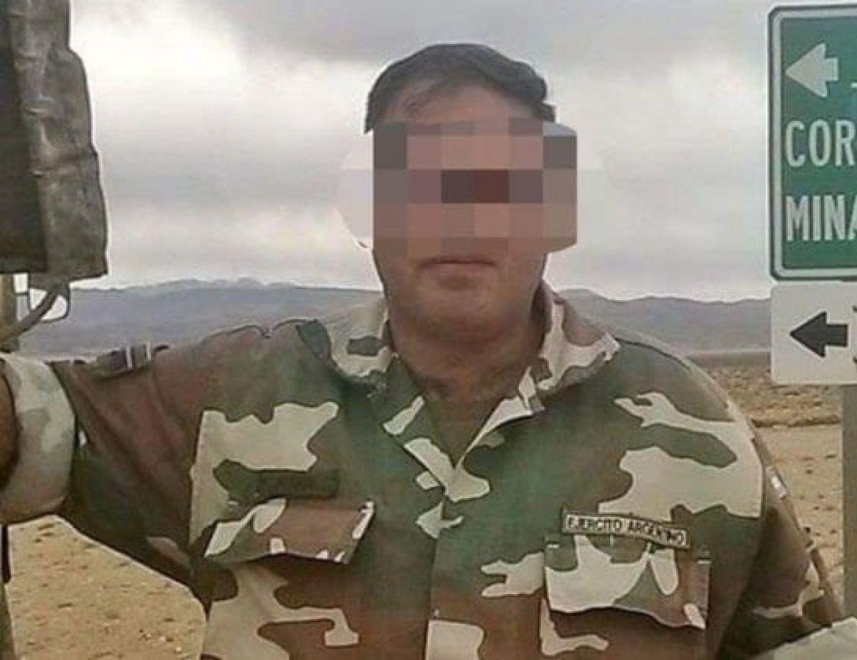 Militar imputado por violación