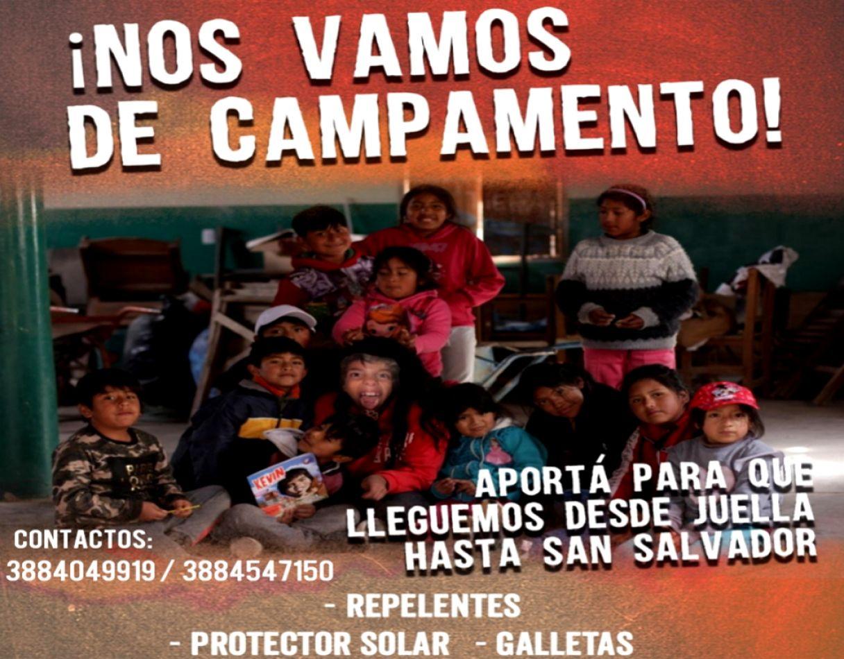 La Poderosa recibe donaciones para realizar un campamento en Jujuy