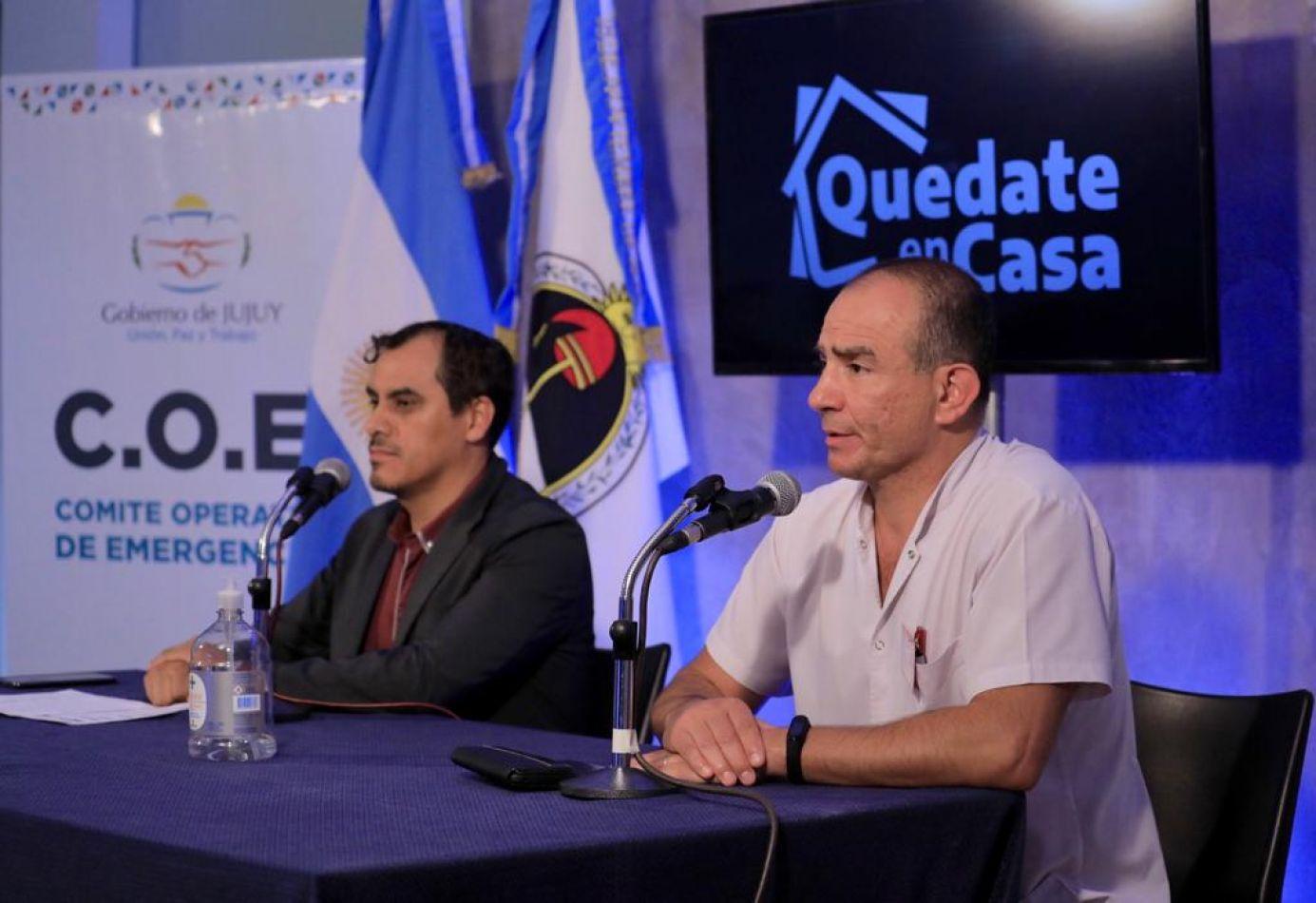 Los siete casos sospechosos de Jujuy están estables, esperan los estudios del Malbrán