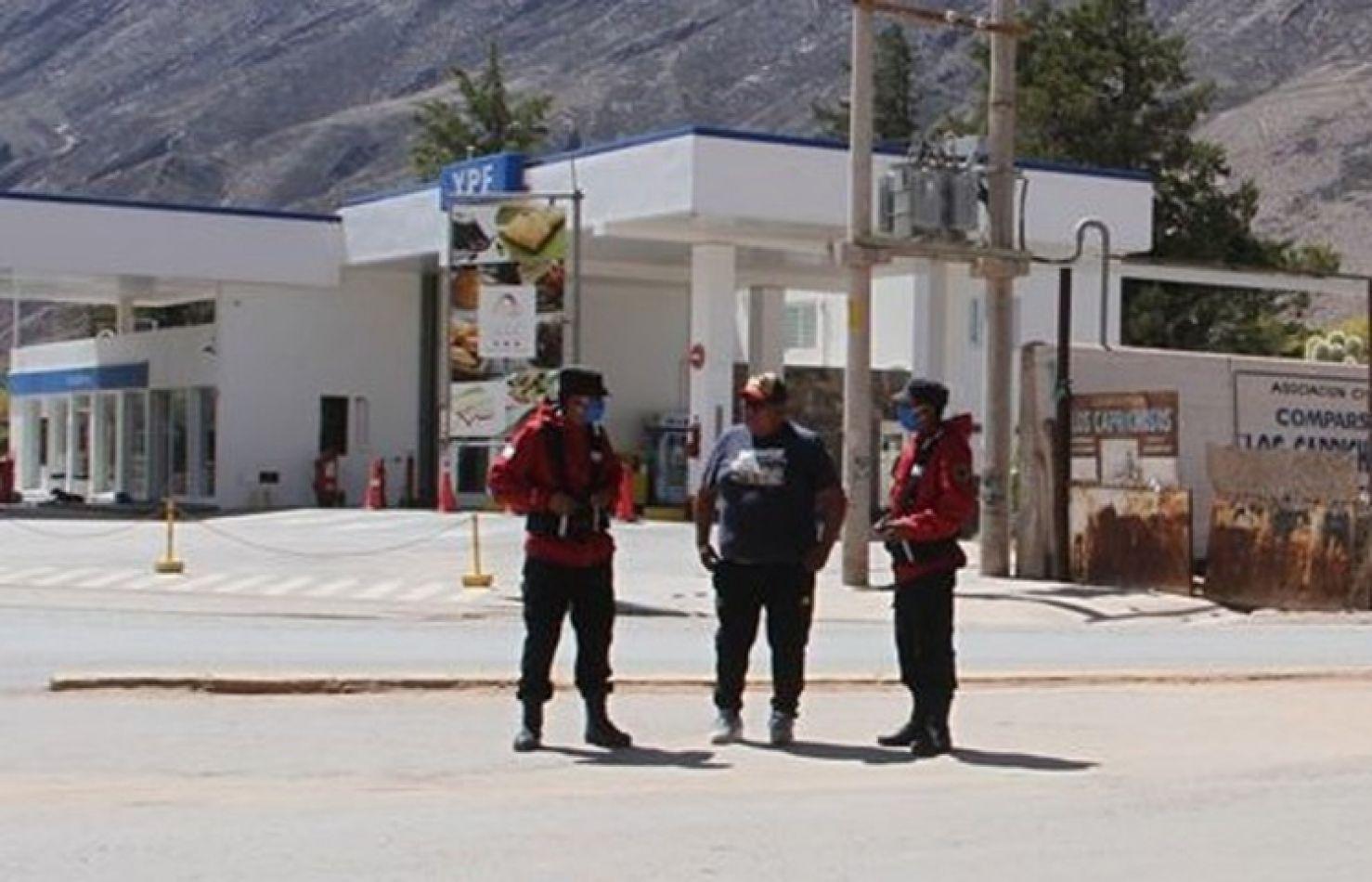 El intendente de Tilcara dibujó una frontera con Sumay Pacha