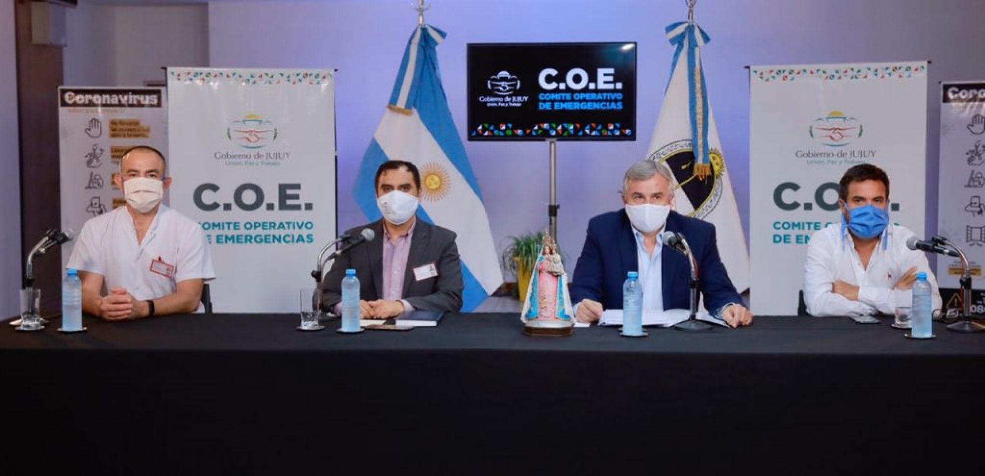 Morales multó con 80 mil pesos a su funcionario del COE