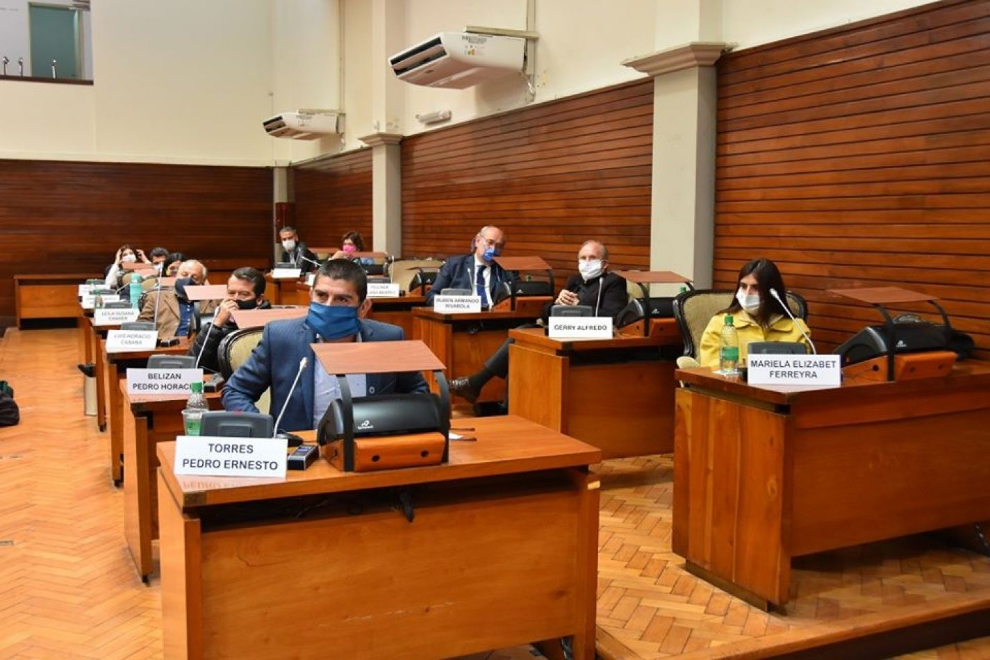 Foto: Legislatura de Jujuy. Bancada Frente de Todos-PJ