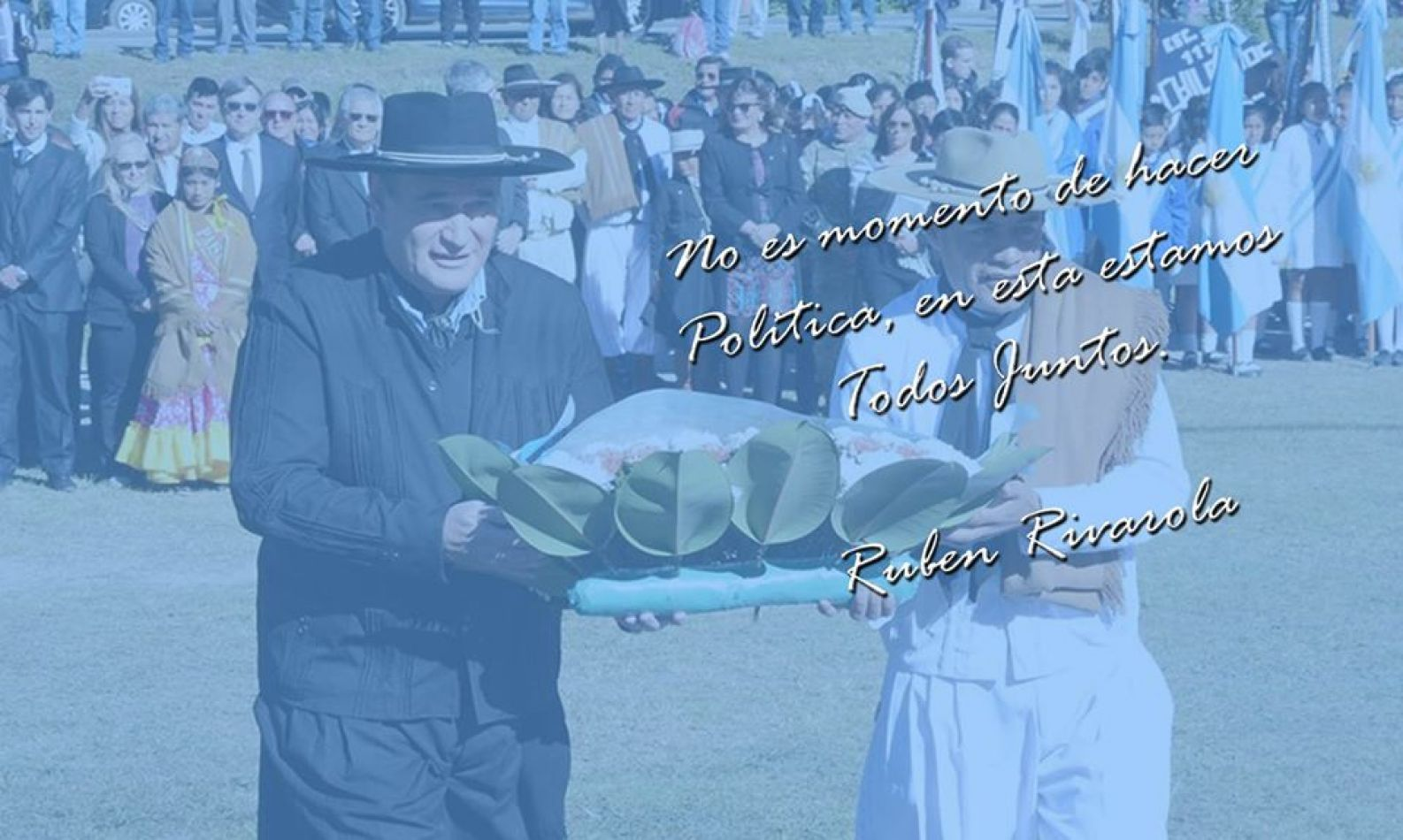 Foto: Facebook Rubén Rivarola Prensa