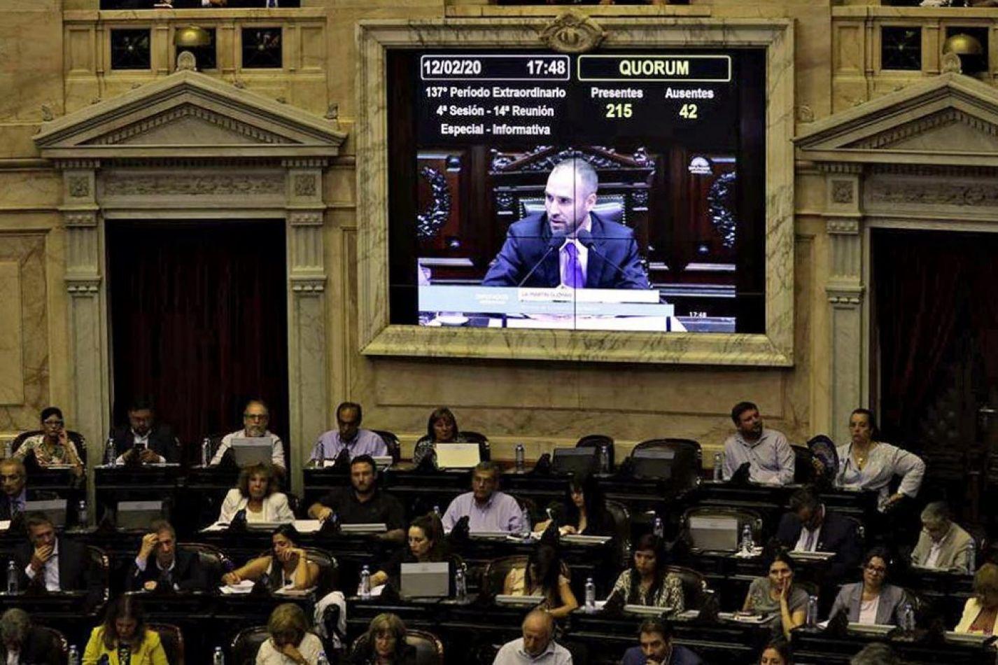 Reestructuración de la deuda: ingresó un proyecto al Congreso para los bonistas locales