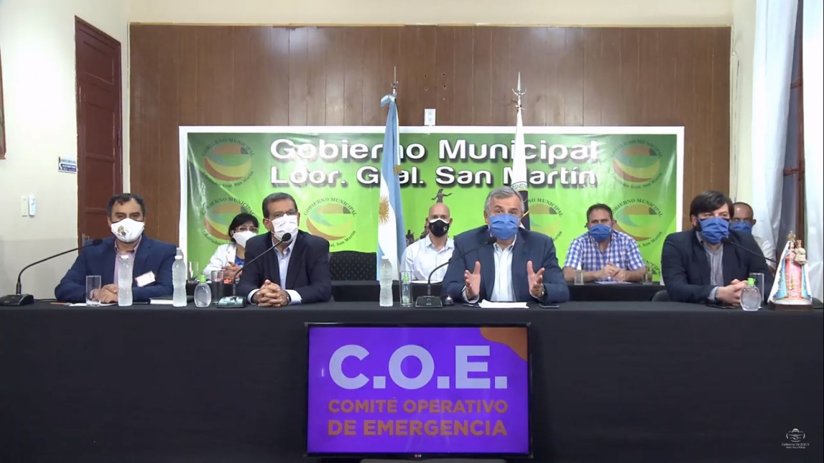 """""""Está colapsado el sistema público"""", reconoció Morales desde Libertador"""