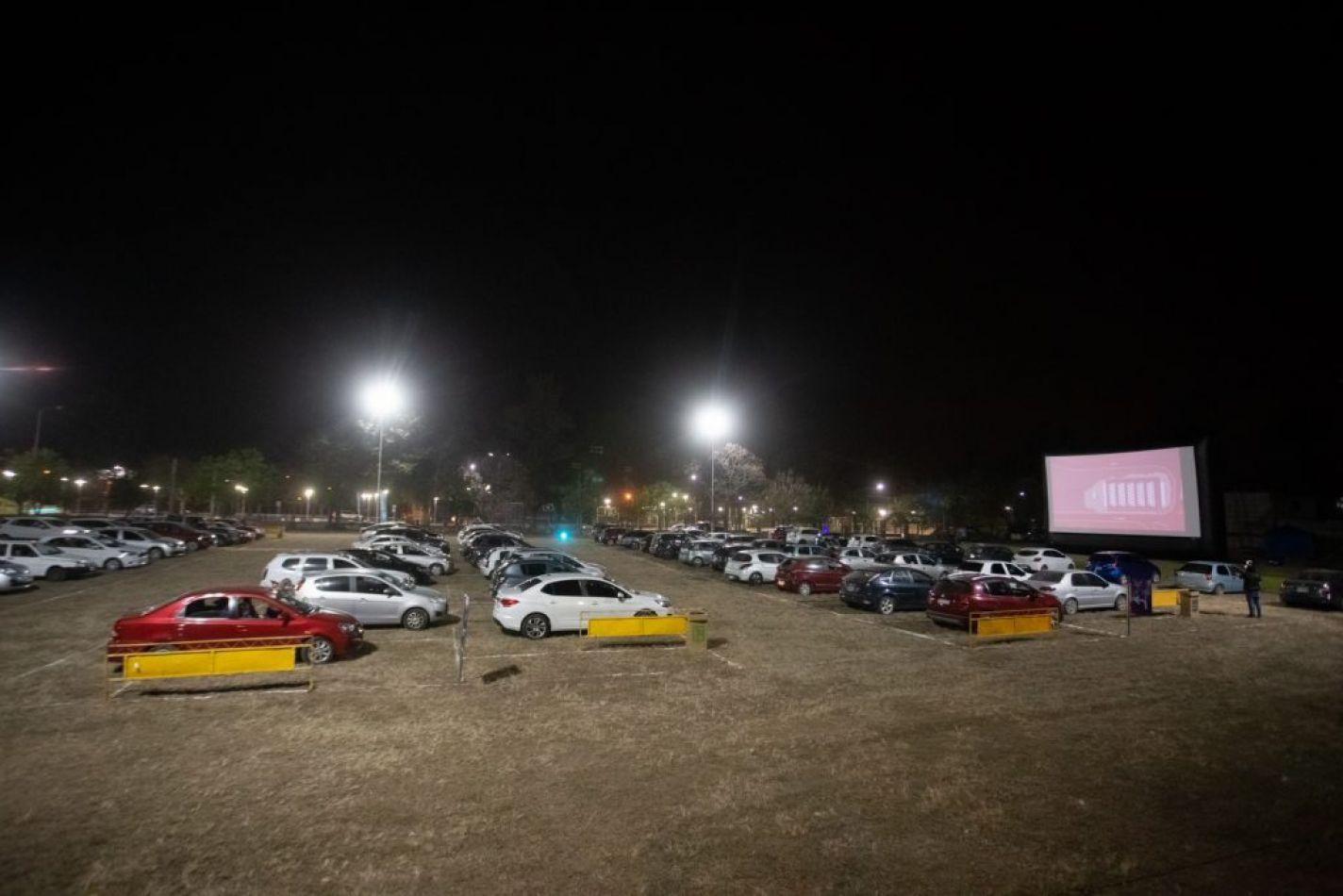 Foto: Prensa Jujuy. Autocine en Parque San Martín