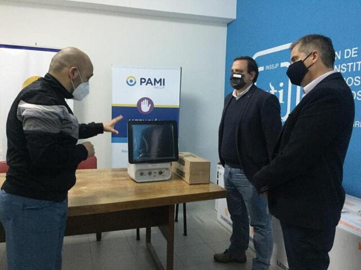 Clínicas privadas de Jujuy recibieron 16 respiradores del PAMI