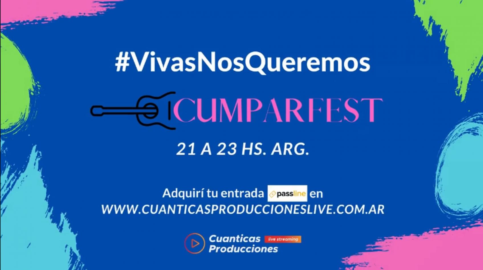 Cumparfest: hoy arranca el festival online de cantautoras y compositoras feministas