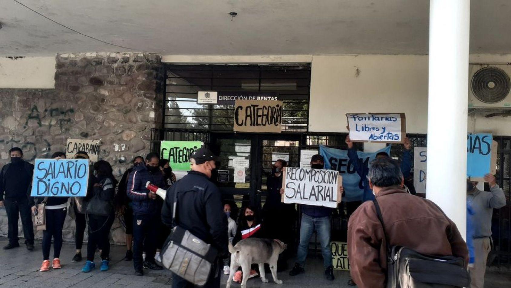 El SEOM repite otra jornada de protesta en Palpalá
