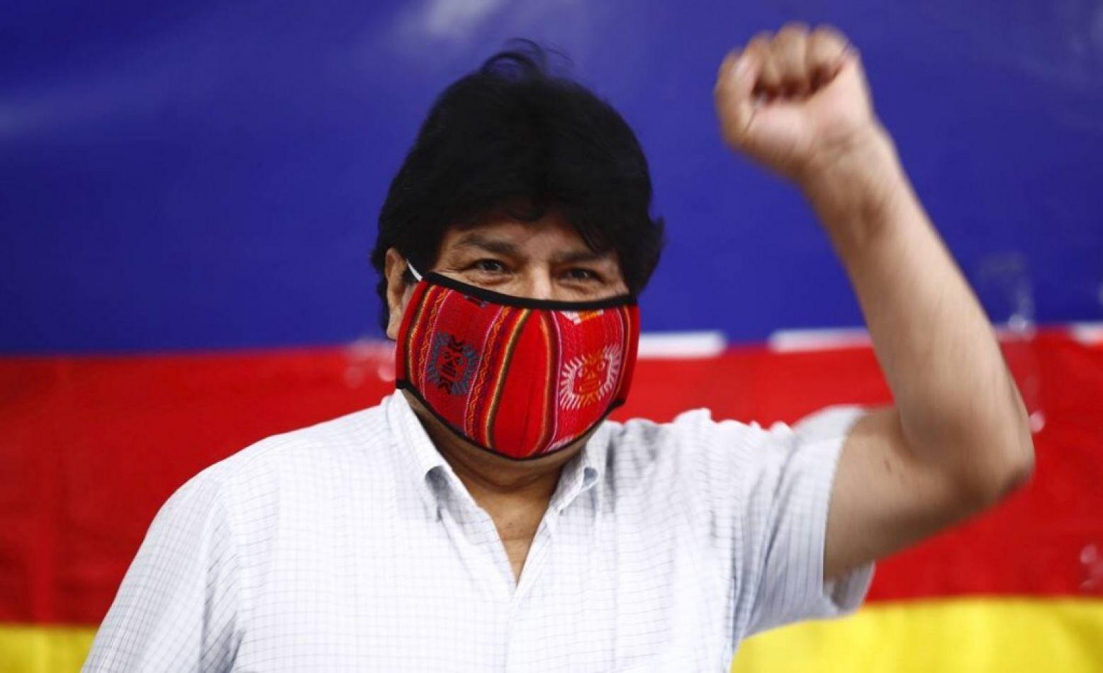 Diagnóstico positivo de covid 19 para Evo Morales
