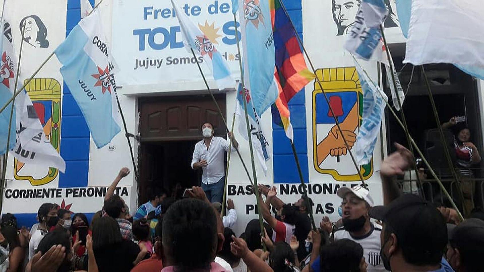 Se inauguró la sede del Frente de Todos en Jujuy
