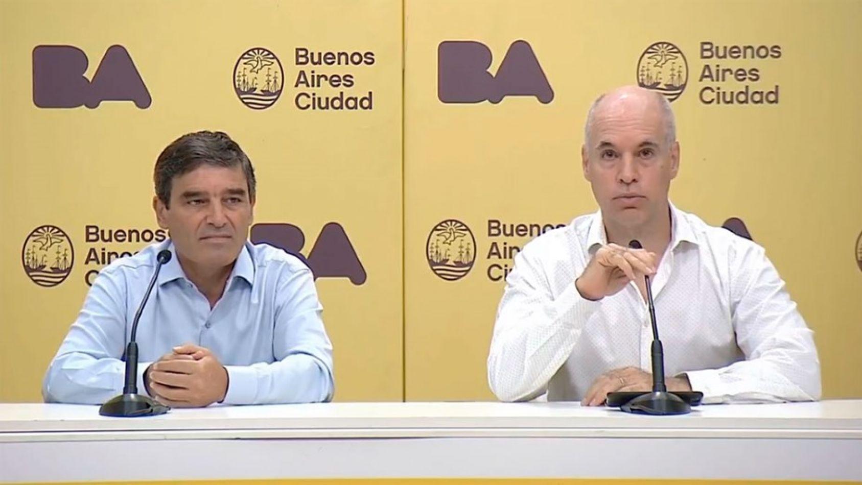 """Imputaron a Larreta y su ministro de Salud por la """"vacunación privada"""" contra el covid"""