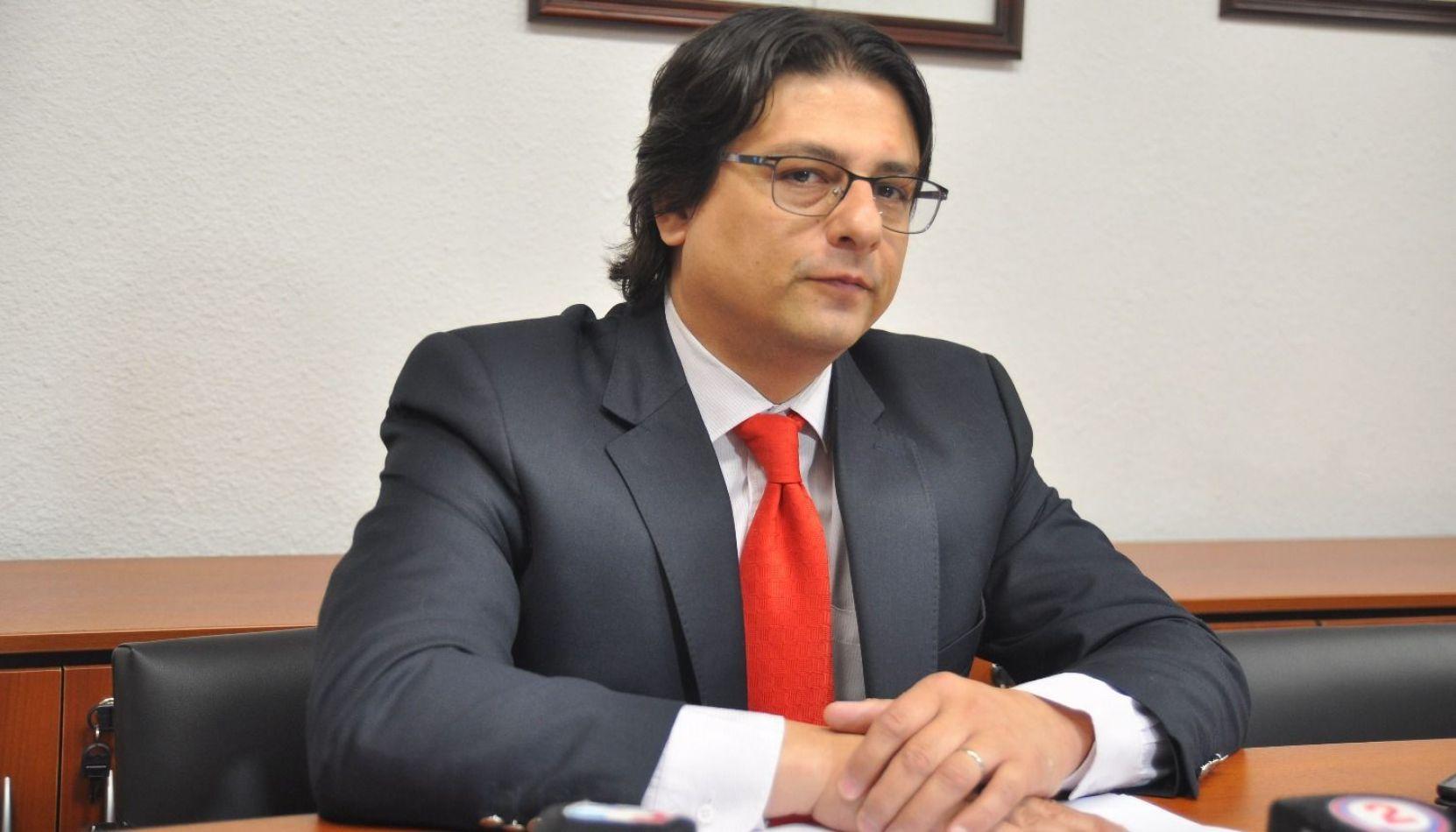 Sergio Lello Sánchez, jefe de los fiscales de Morales.
