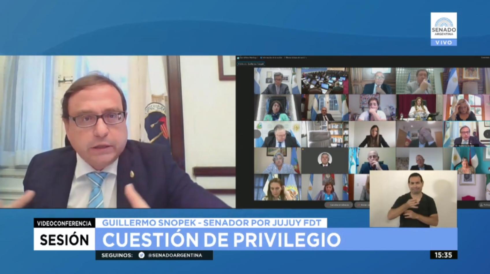 """""""En Jujuy se vive en dictadura bajo el velo de democracia"""" dijo Guillermo Snopek"""