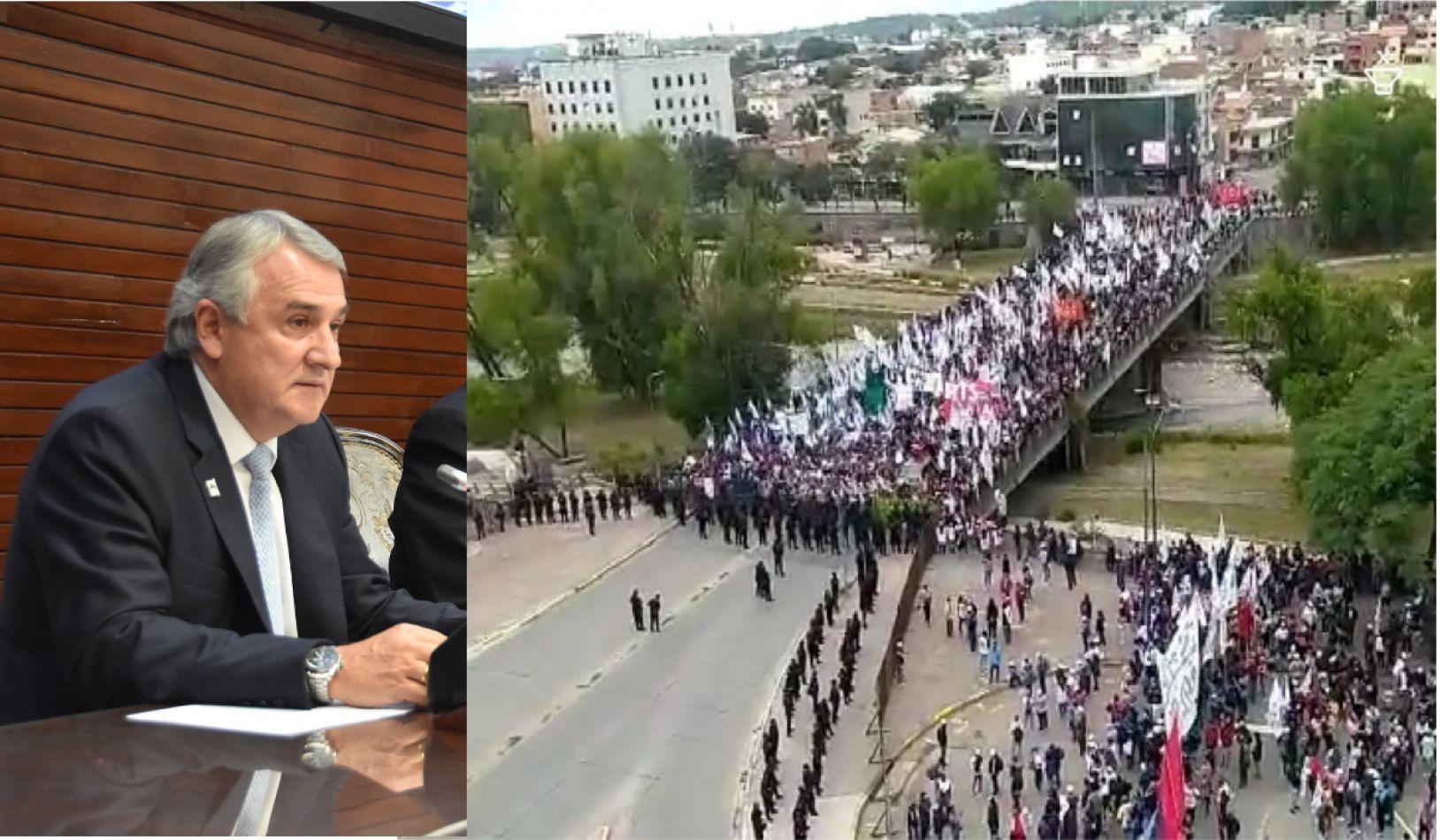 La otra cara de Jujuy: los cuestionamientos al discurso de Gerardo Morales