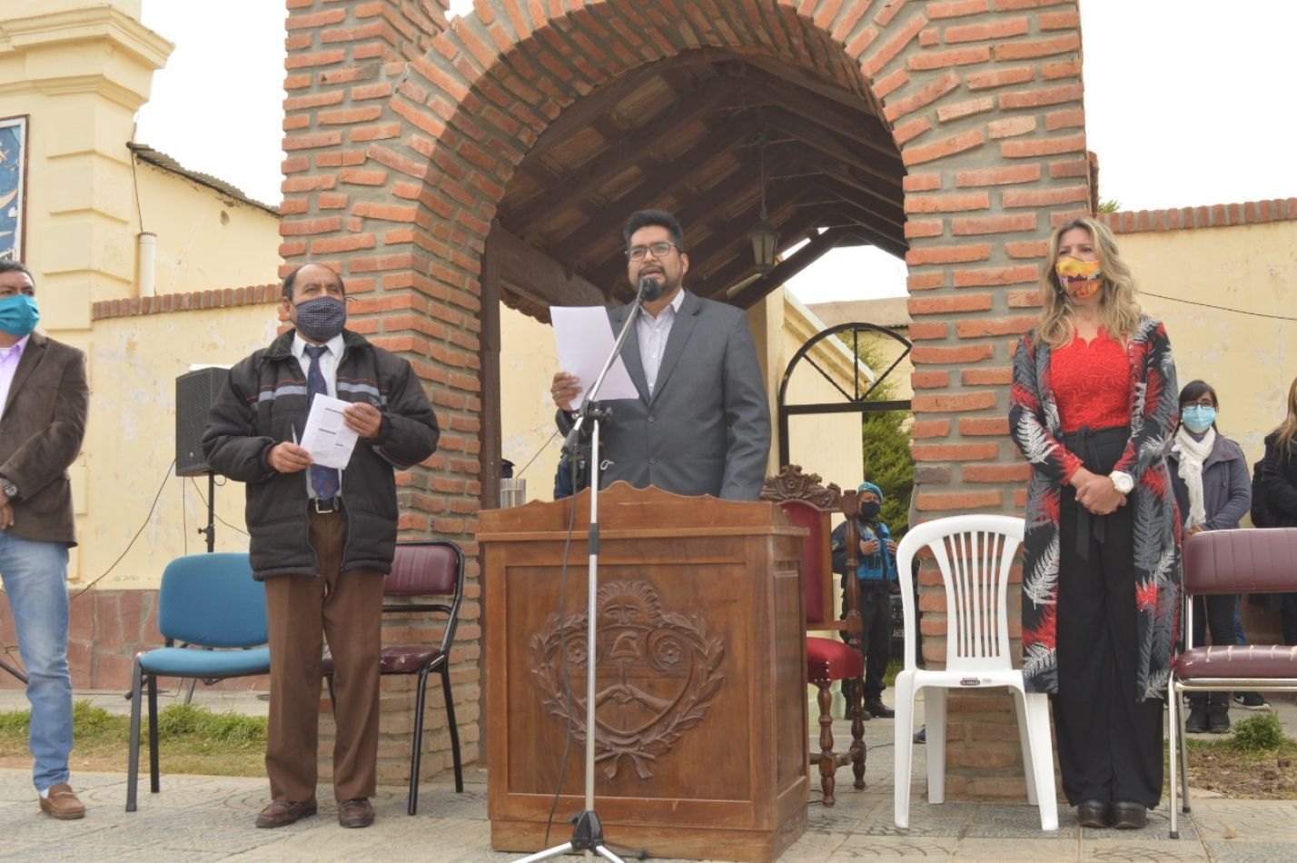Blas Gallardo dio un histórico discurso ante el pueblo de La Quiaca en el inicio de sesiones del Concejo
