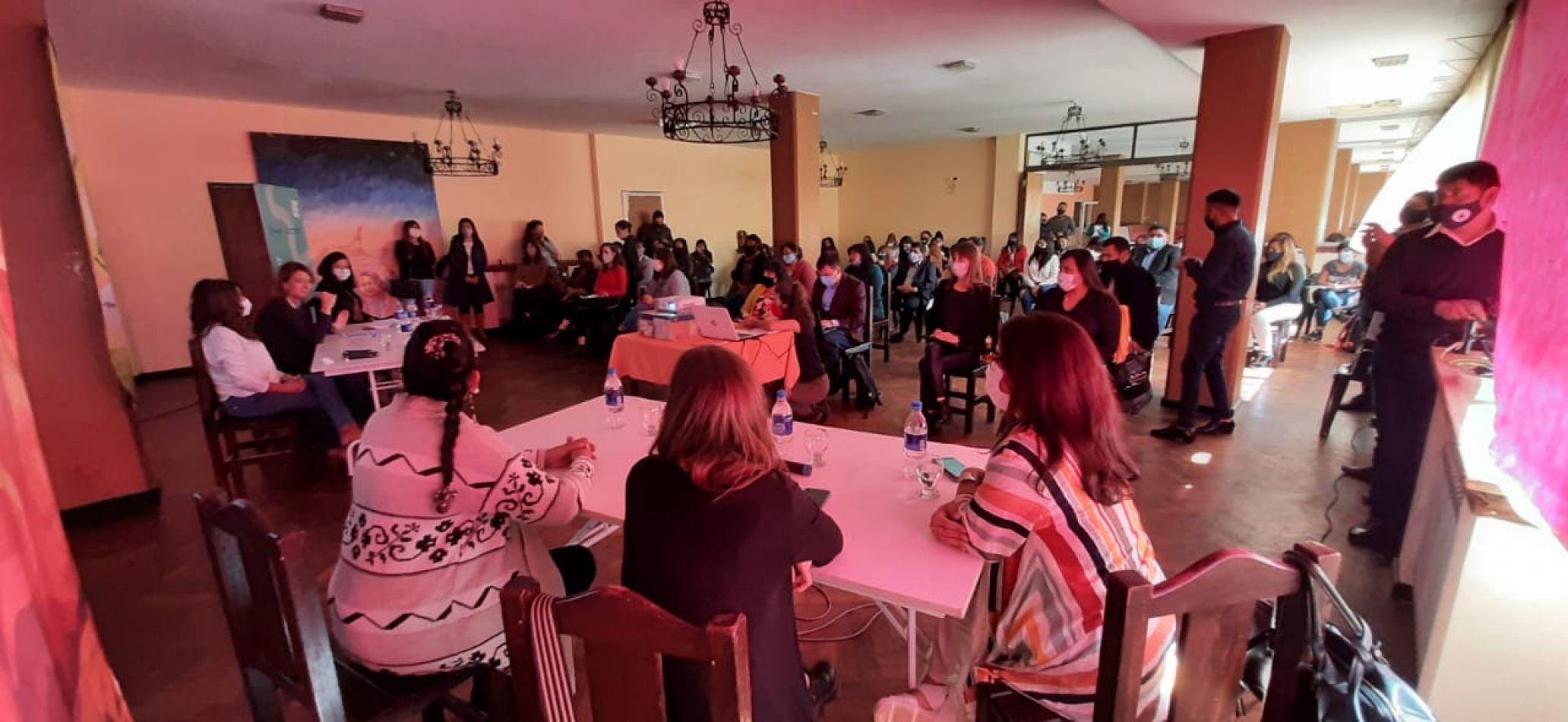 Funcionarias presentaron el Plan Nacional de Acción contra las Violencias por Motivos de Género en Humahuaca